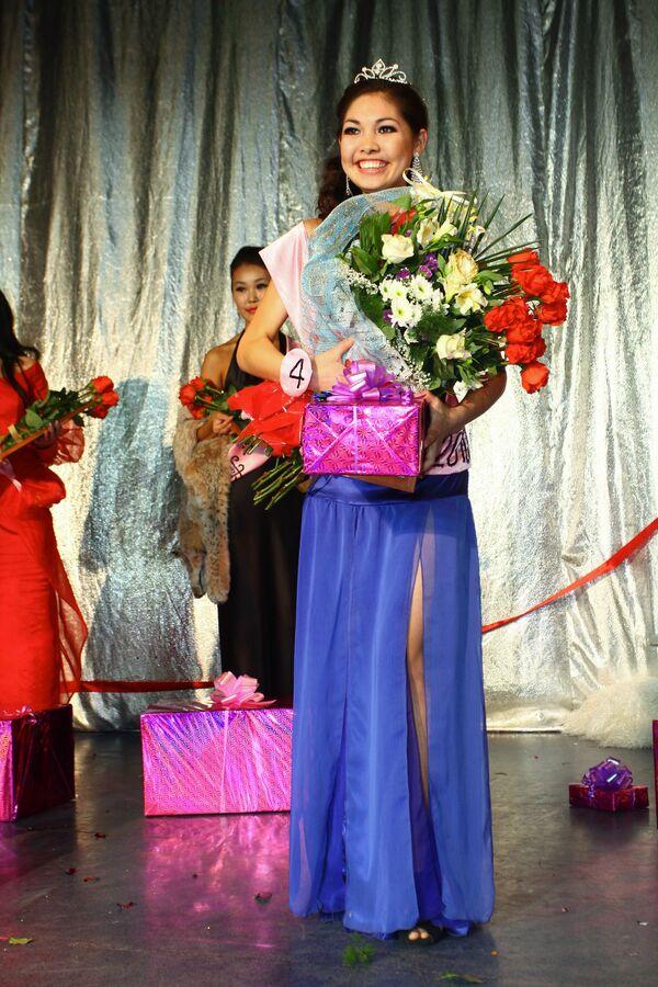 Финал конкурса Мисс Азия - 2010 в Новосибирске