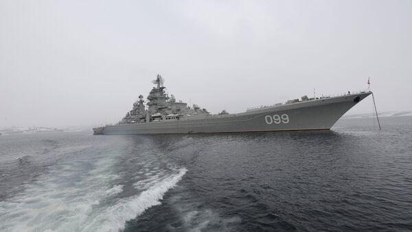 Тяжелый атомный ракетный крейсер Петр Великий. Архив