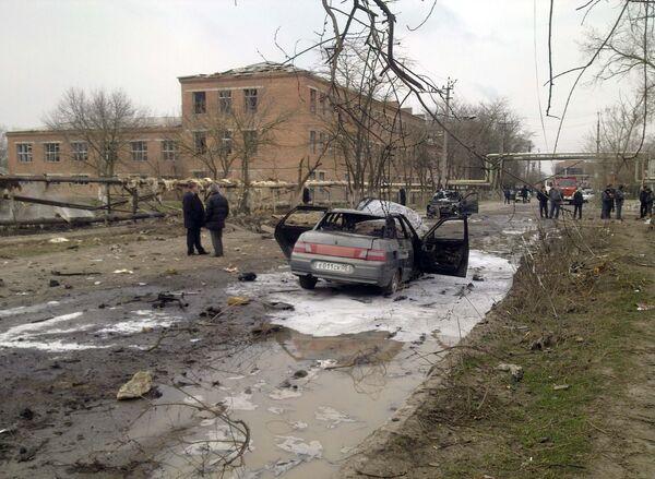 Взрывы в дагестанском Кизляре