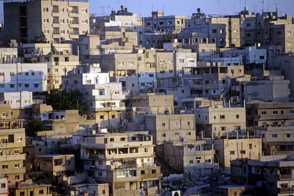 Столица Иордании Амман. Архив