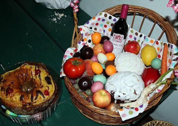 Празднование православной пасхи в Аргентине
