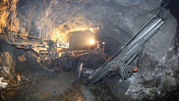 Работа в руднике. Архивное фото