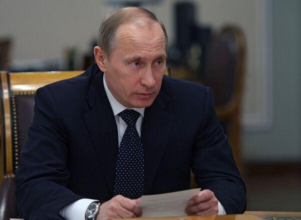 Владимир Путин. Архив
