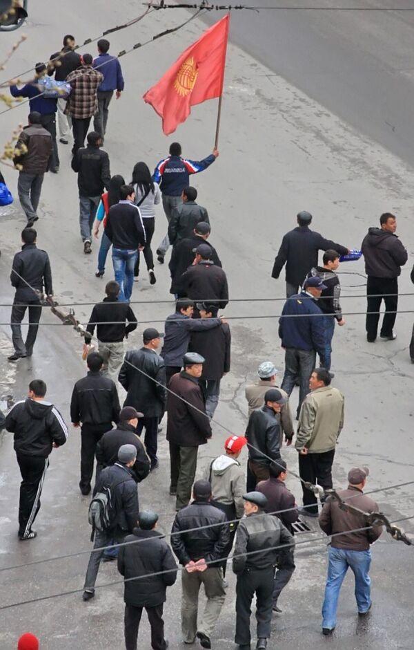 На улицах Бишкека