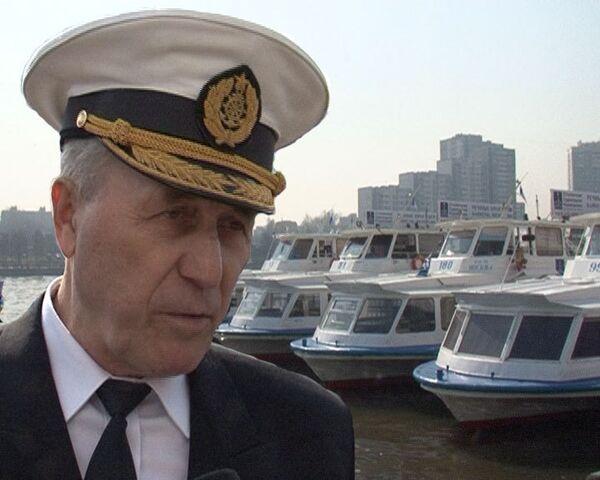 Десять кораблей открыли пассажирскую навигацию на Москва-реке
