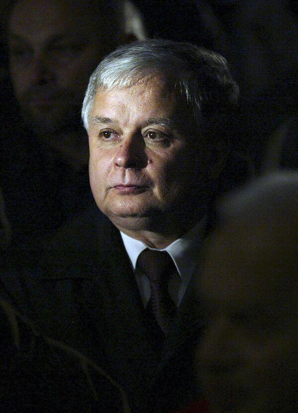 Президент Польши Лех Качиньский