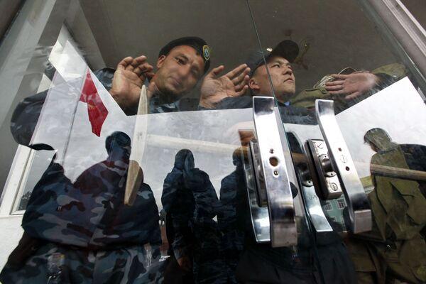 Столкновения сторонников Бакиева и оппозиции. Архив
