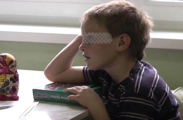 Семилетний мальчик Артем