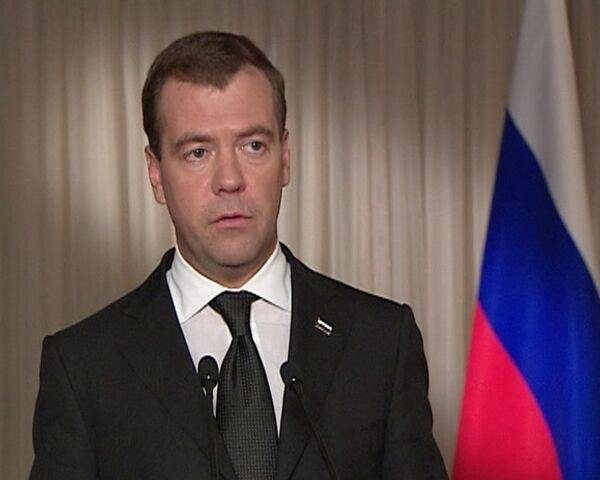 В Киргизии все могло закончиться гражданской войной - Медведев