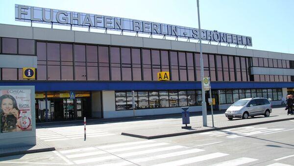 Берлинский аэропорт Шенефельд . Архивное фото