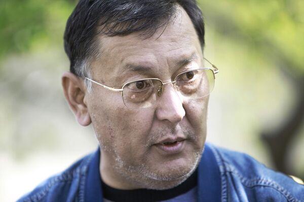 Брат отстраненного от власти президента Киргизии Курманбека Бакиева Ахмад Бакиев. Архив.