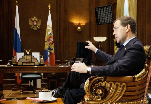 Россия скажет да предложению НАТО по ПРО, если предложение серьезное - Медведев