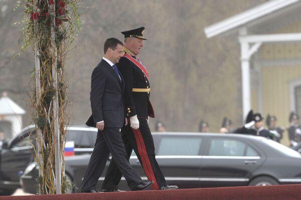 Президент РФ Д.Медведев в Осло