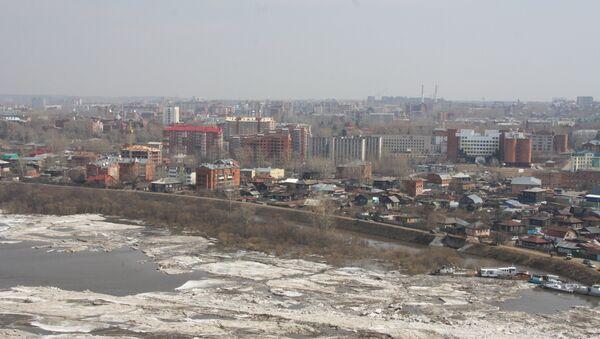 Паводок в Томске
