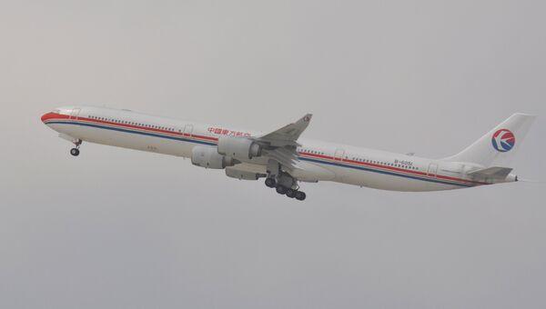 Аэробус A340 авиакомпании China Eastern Airlines. Архивное фото