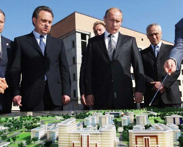 Путин: Деревня Универсиады-2013 - еще одна общероссийская стройка