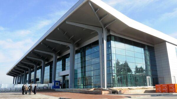 Терминал аэропорта в Харькове