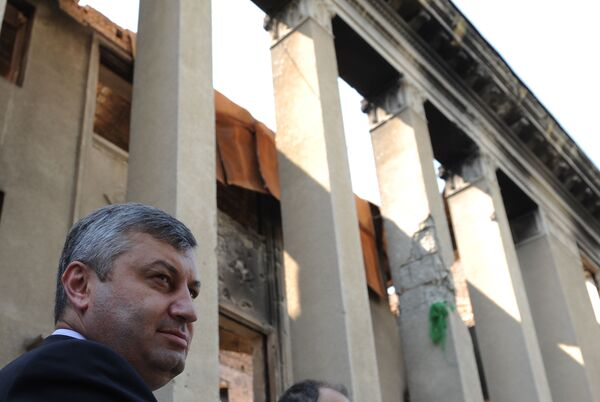 Видеомост Южная Осетия — год спустя. Новые реалии на Кавказе в Цхинвали