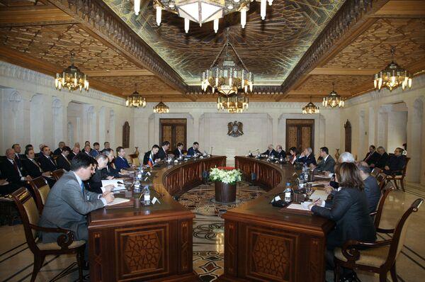 Российско-сирийские переговоры