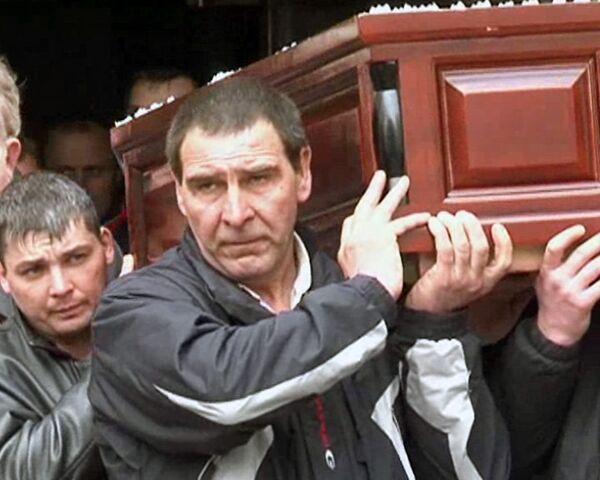 Шестерых  горняков, погибших на Распадской, похоронили в Кузбассе