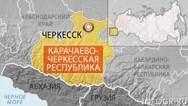 Силовики продолжают бой с боевиками в одном из районов КЧР