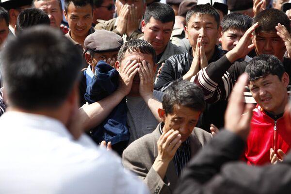 Народные волнения в Киргизии