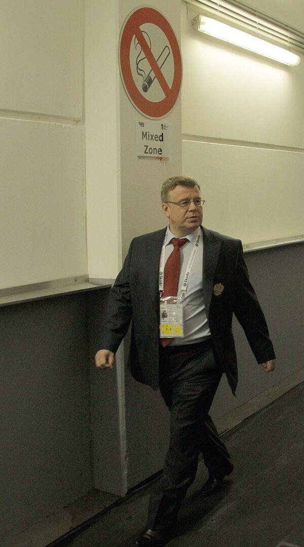 Тренер сборной России Игорь Захаркин
