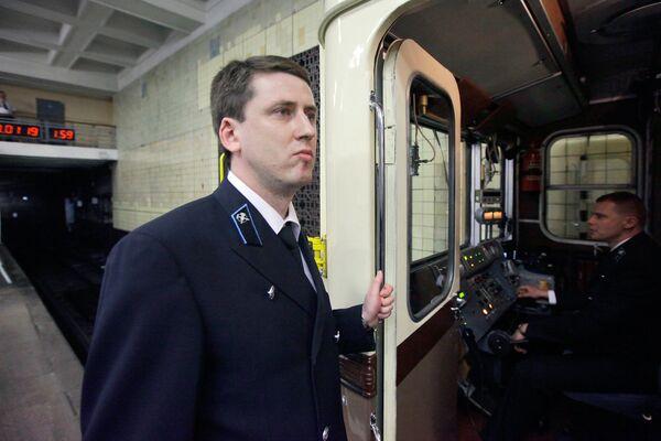 15 мая в день 75-летия Московского метрополитена был пущен ретропоезд, в точности воспроизводящий первый состав 1934 года