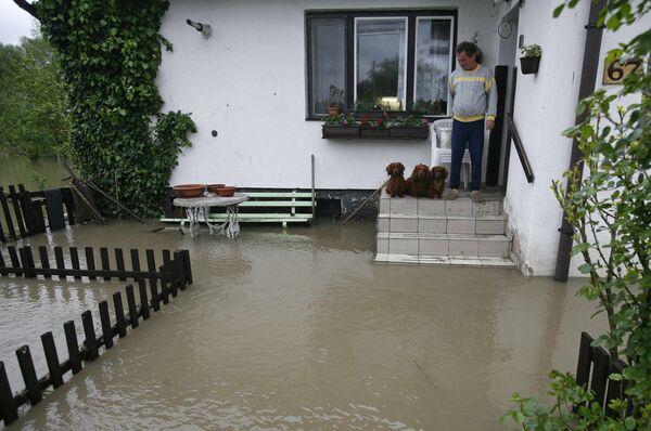 Наводнение в Чехии. Архив