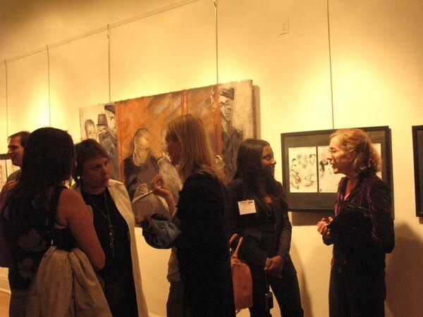 Выставка Рисуем суд в Нью-Йорке