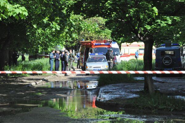 Взрыв прогремел на опорном пункте милиции в Нальчике