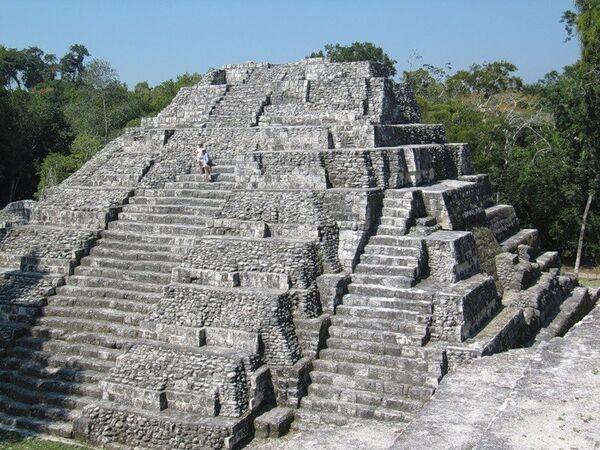 Города майя - Яшха