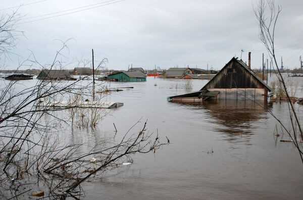 Паводок в Якутске