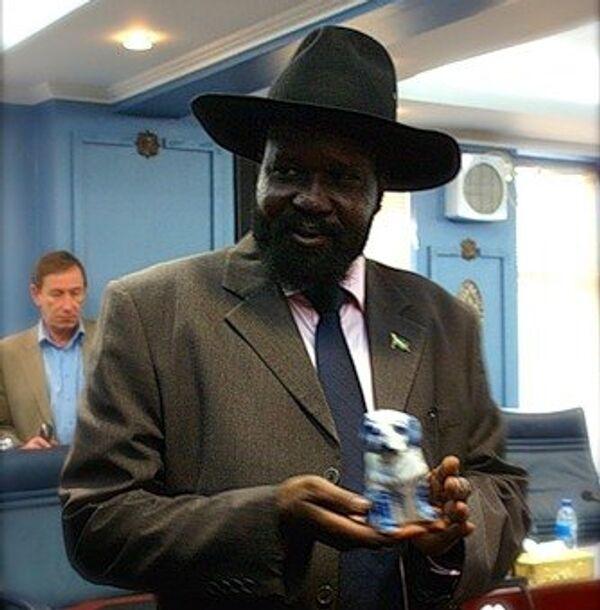 Новый президент правительства южного Судана Сальва Киир. Архивное фото