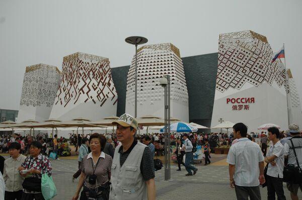 Уже свыше 500 тысяч человек посетили павильон России на ЭКСПО-2010 в Шанхае