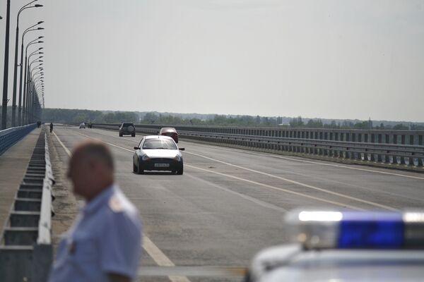 Мост в Волгограде открыт для движения легкового транспорта