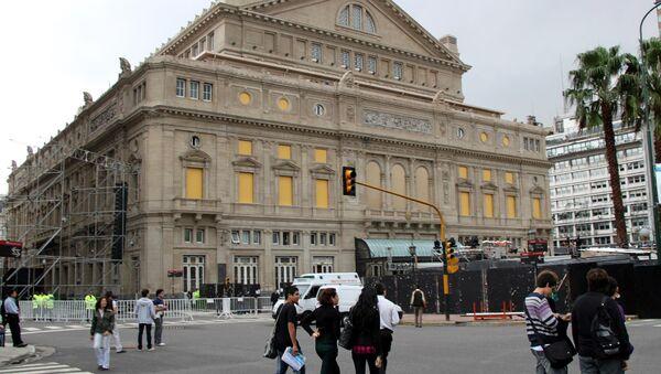 Театр Колон открылся в Буэнос-Айресе после четырехлетнего перерыва