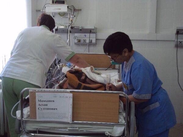 Мамышев Асхан Султанович пострадавший при взрыве в Ставрополе
