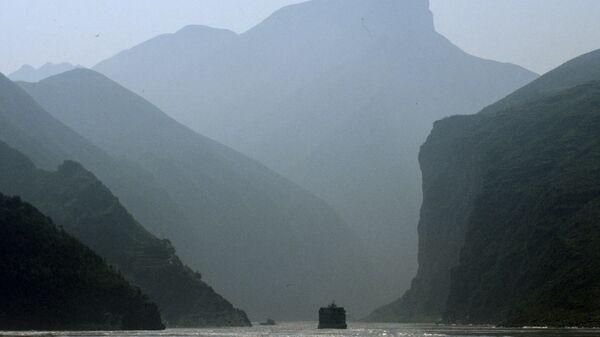 Река Янцзы, архивное фото