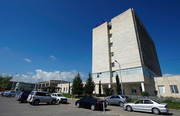 Выборы в Грузии, здание ЦИК