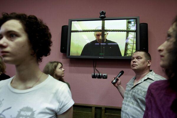 Рассмотрение жалобы на приговор экс-главе ОВД Царицыно Денису Евсюкову