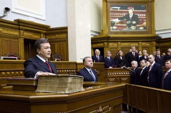 100 дней президента Виктора Януковича