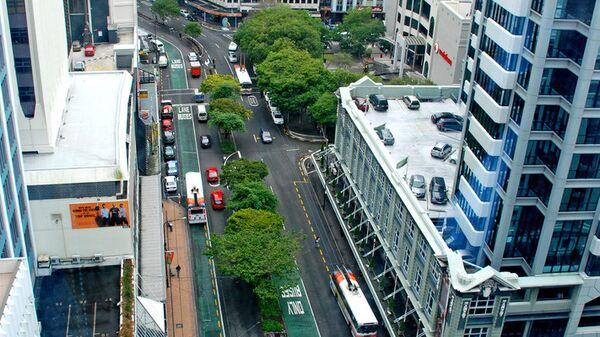 Город Веллингтон, Новая Зеландия. Архивное фото