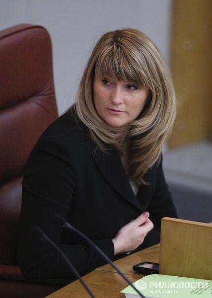 Светлана Журова в Госдуме РФ