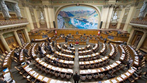 Парламент Швейцарии. Архивное фото