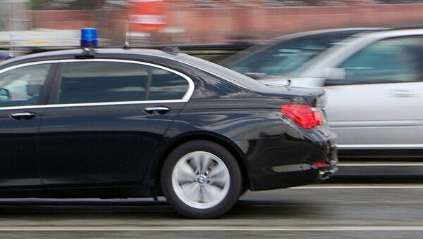 Автомобиль со спецсигналом