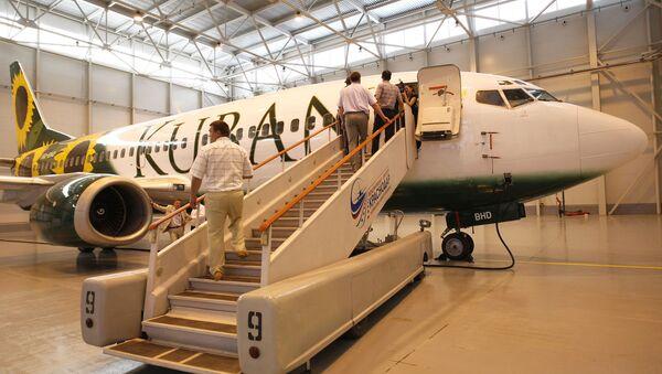 Фирменный стиль авиакомпании авиационные линии Кубани