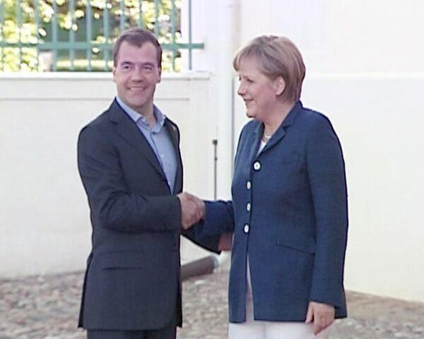 Дмитрий Медведев прибыл в Германию с двухдневным визитом