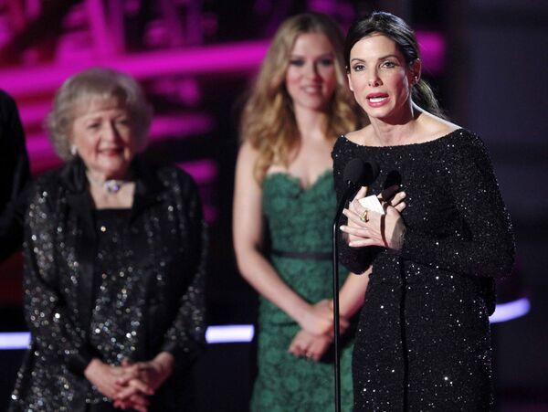 Сандра Буллок завоевала Признание поколения аудитории MTV.