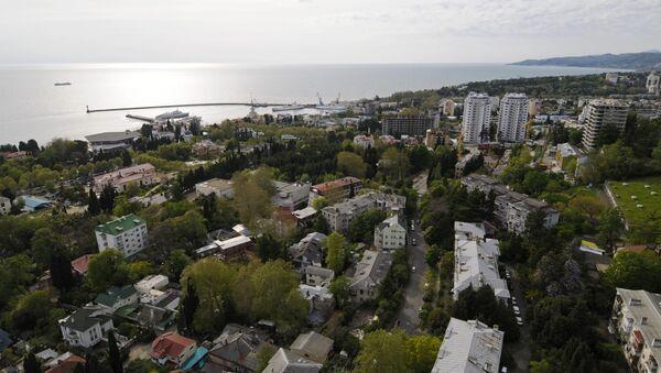 Вид города Сочи. Архив